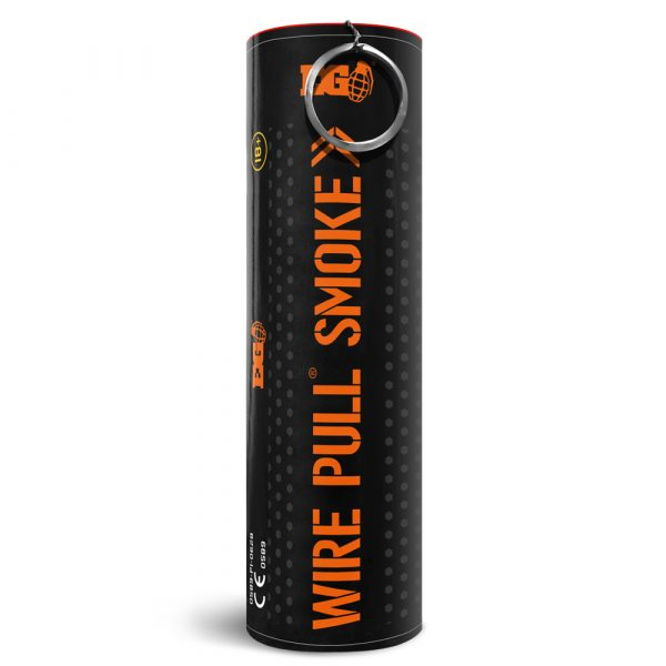 Orange Smoke Grenade P1
