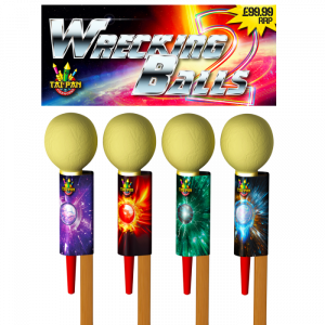 wrecking-ball rockets