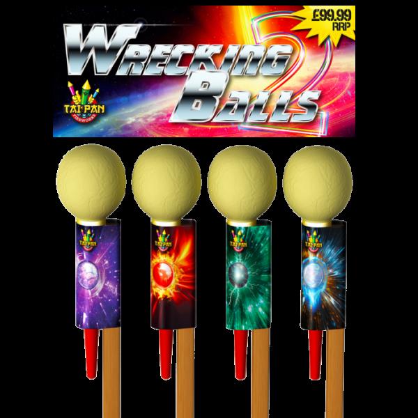 wrecking-ball rockets